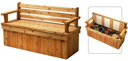 how to build a bench on a deck