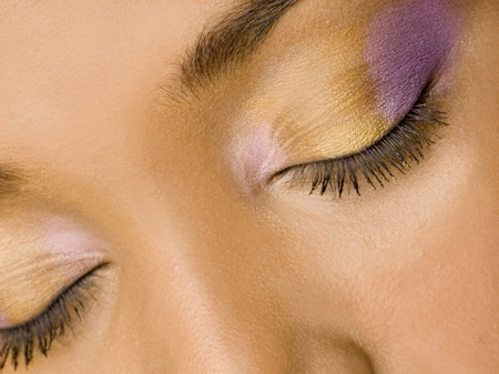 Cosmetics which offers different radiant colored eye shade palettes with