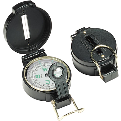 Lensatic Compass How to Use a Lensatic Compass