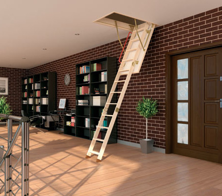 how to build a loft ladder How to Build a Loft Ladder