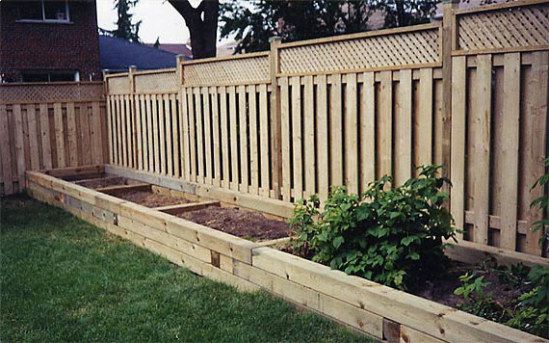 how to build wood retaining wall
