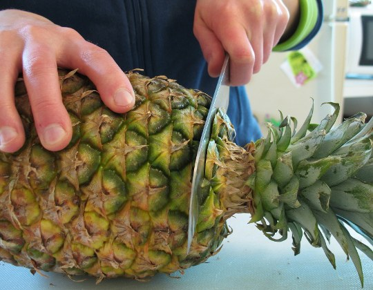 how to cut a pineapple How to Cut a Pineapple