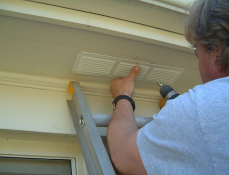 Use Soffit Vent How to Use a Soffit Vent